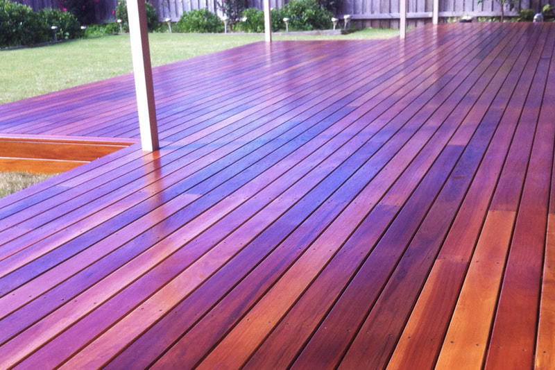 Deck Staining in Prosper, Texas