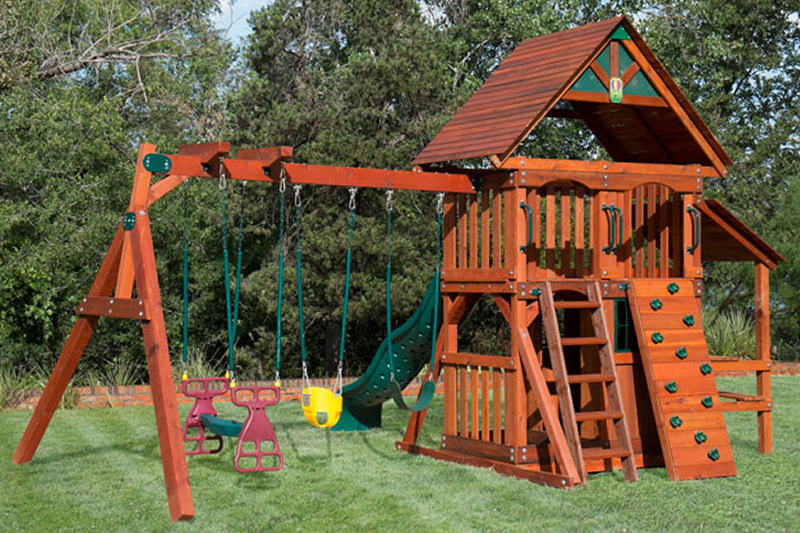 Backyard Playset Staining In Prosper